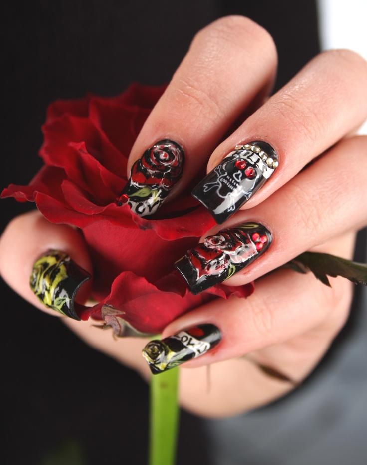 34 best Nail Art by Monika Zbijowska images on Pinterest | Nails ...