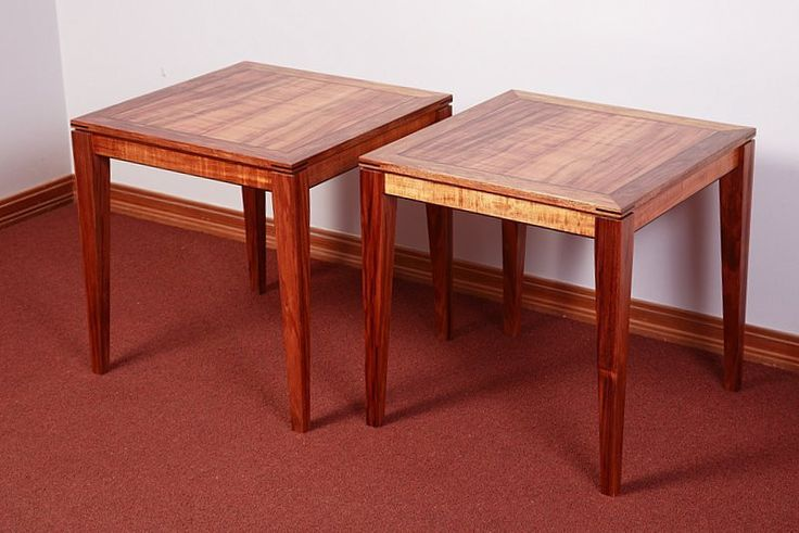 Blackwood Side Tables   Australian Woodwork - FREE Gift Wrapping - FREE Handwritten Gift Card - Fast Same Day Shipping - FREE Shipping for orders over $100 - Our usual Money Back Quality Guarantee!