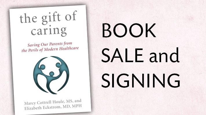 Marcy Cottrell Houle, author of The Gift of Caring, winner of the 2016 National Christopher Award – the award that affirms the highest values of the human spirit -  will sign and speak Sept. 20, 2016 from 7-8:30pm at Laurelhurst Village.