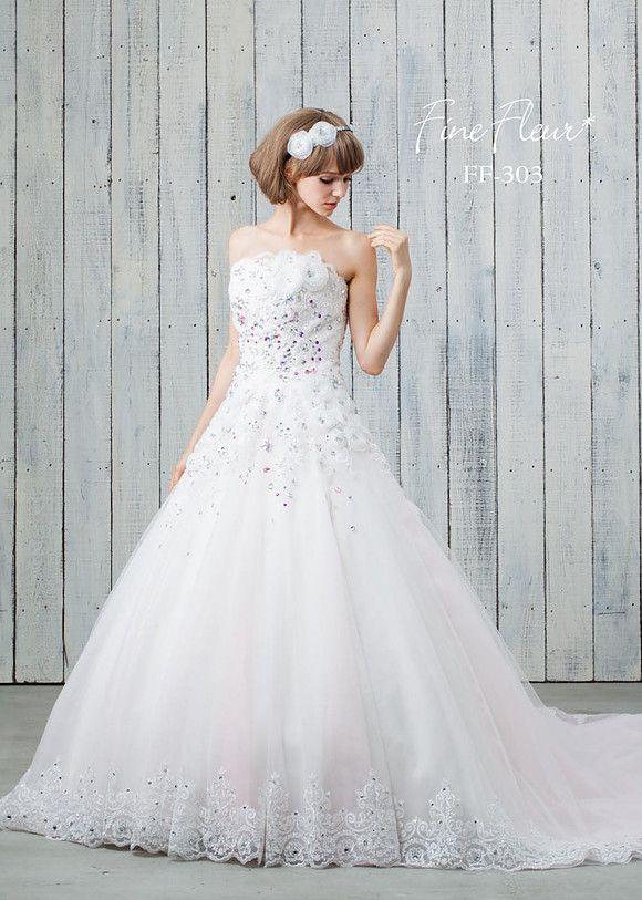 スポサ京都 京都 オーダーメイド ウェディングドレス | Fine Fleur