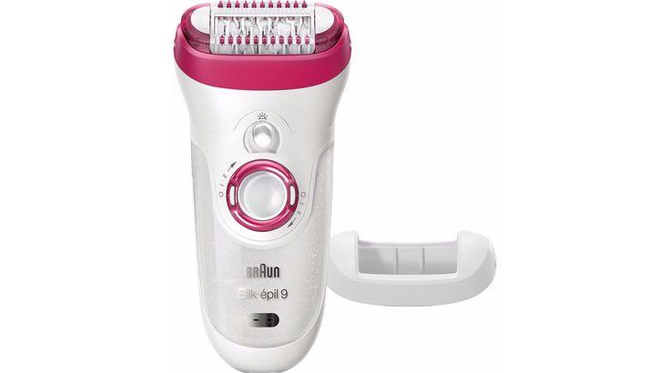 Epilateur électrique wet & dry pour une épilation dans le bain ou sous la douche, des jambes nettes et douces cet été. Au poils !