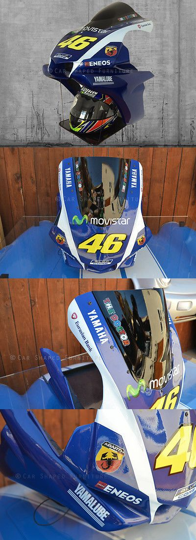 Wall Shelves 45501: Moto Gp #46 Valentino Rossi Wall Helmet Shelf Yamaha Motor Racing Italy Wall Art -> BUY IT NOW ONLY: $495 on eBay!