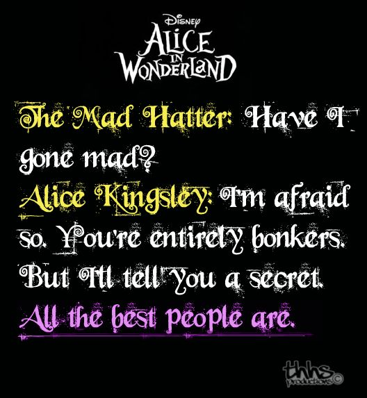 Disney Alice In Wonderland Quote: 217 Best Images About Alice In Wonderland On Pinterest
