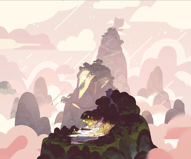 ellemichalka:  For Giant Woman - This episode was the last one I was able to be a full bg painter on before taking over as art director - It meant a lot to me to be able to paint this gorgeous location. Sam Bosma designed the BG's and Jasmin Lai helped me out with additional BG paint and also some amazing zip pans which are an art in and of themselves (you all should all go ask her to post them for you to see!!)