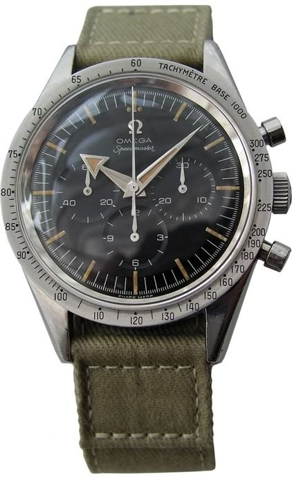 Vintage Omega Speedmaster, 1957. Major lust. I've-got-to-have-it!!!