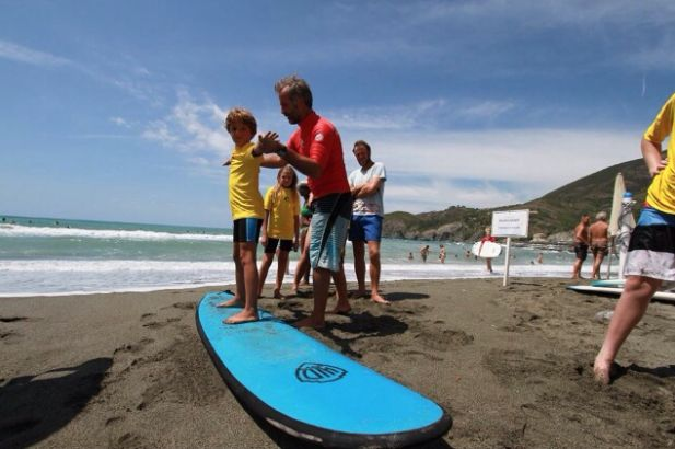 Learn to Surf in amazing #Levanto Italy #surflevanto