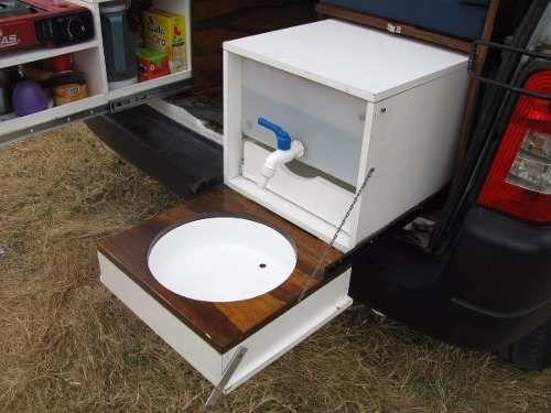 kit camping motorhome rodante para partner kangoo berlingo camping pinterest furgonetas. Black Bedroom Furniture Sets. Home Design Ideas