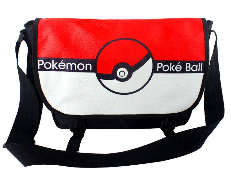Fashion popular anime pokemon shoulder messenger bag