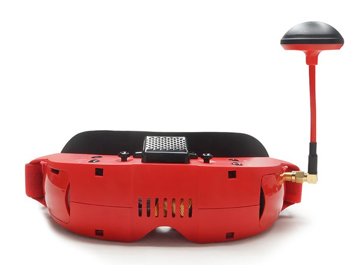 TOPSKY F7X 3D 5.8G 40CH FPV Goggles with 42 Degree FOV and DVR