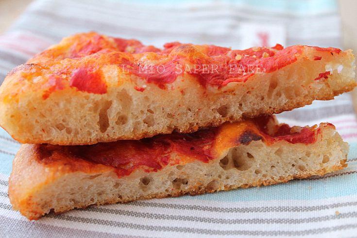 Pizza in Teglia con Lievito Madre il mio saper fare