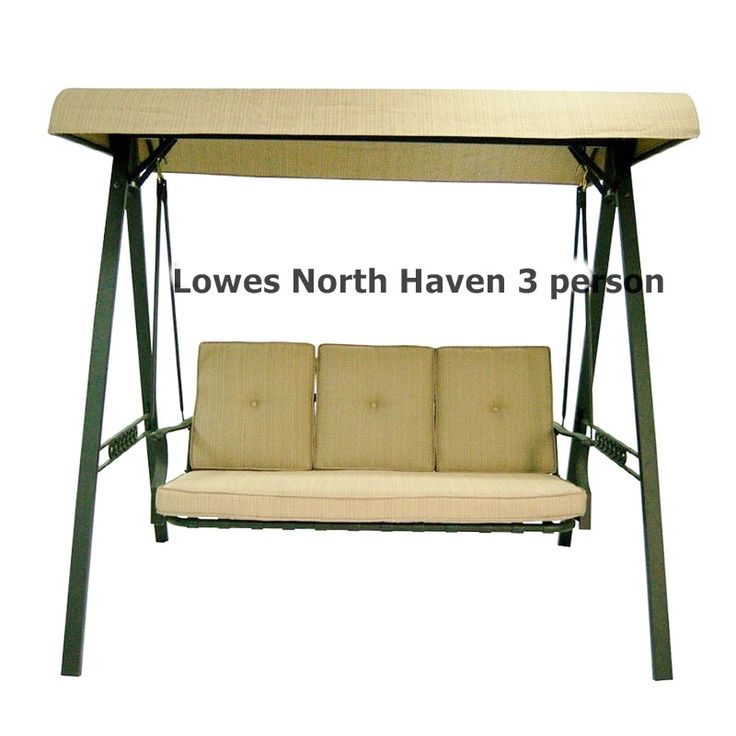 Lowes Patio Swing Canopy And Cushion Replacements