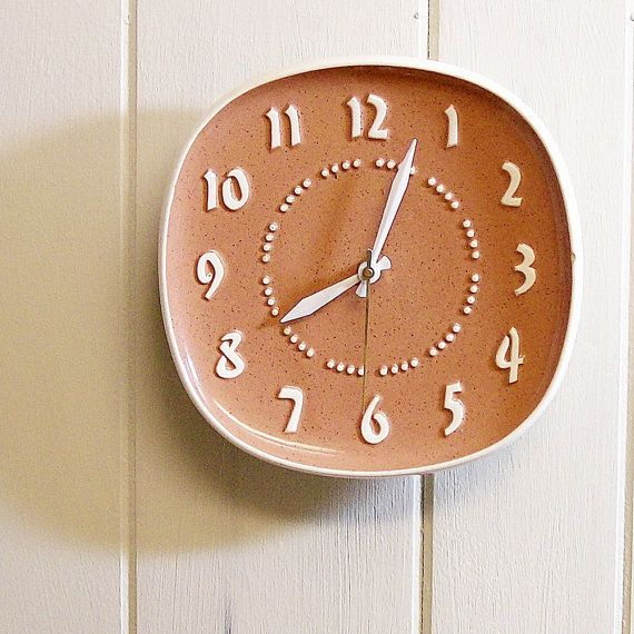 Mid Century Modern Vintage Wall Clock by Russel Wright.