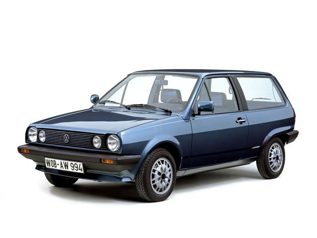 VW Polo MK2. 1982-1991.