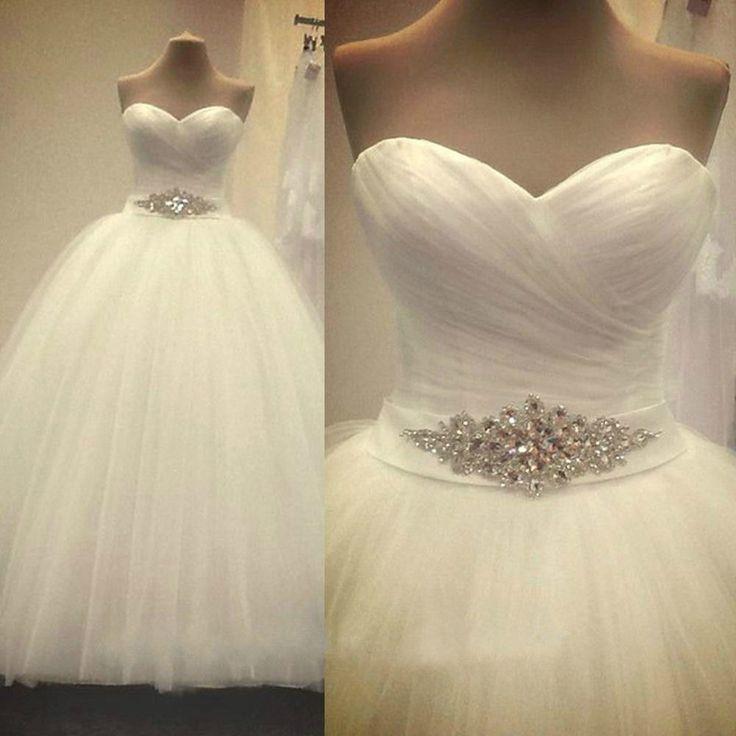 robe de mariée princesse en tulle