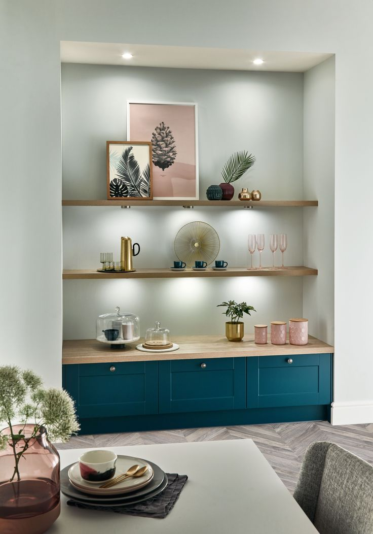 The Burford kitchen range is now available with cabinet doors that are ready to be painted in the colour of your choice! How will you paint yours? For more kitchen inspiration visit Howdens.