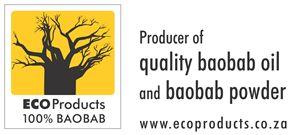 Eco products, 100 percent baobab