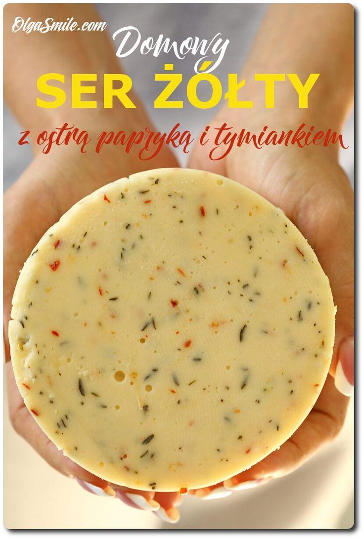 Domowy ser żółty Od kilku dni trzy osoby proszą mnie o smażony domowy ser żółty ale prosty. Dokładnie taki, prawie topiony domowy ser żółty, można przygotować bez większego problemu w domu. Czasami mówi się na niego