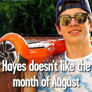 Hayes Grier facts