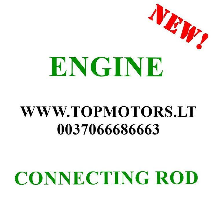 BMW 3 5 X5 SERIES E39 E46  1998 1999 2000 2001 2002 2003 2004 2005 2006 2007   3.0 DIESEL / 135 KW / 142 KW 306D M57  NEW CON ROD