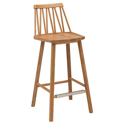 Counter stools, in natural, white, black, blue, red and green