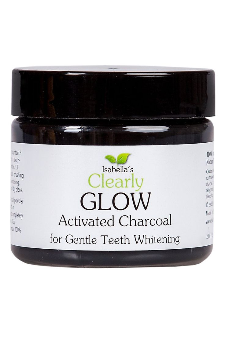 Isabella's Clearly GLOW, Best Natural Teeth Whitening Activated Charcoal Powder Bleach Toothpaste. Brighten, Whiten Stained Teeth. Healthy Gums. Best American Hardwood 2 Oz: Amazon.ca: Beauty