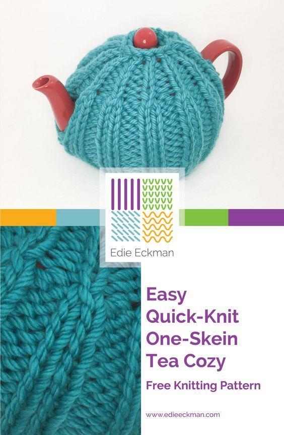 Easy Quick-Knit One-Skein Tea Cozy | Make | Pinterest