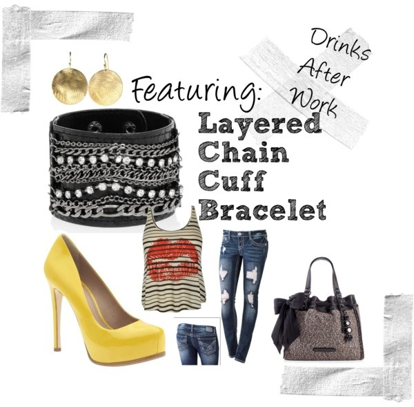 """""""Drinks After Work"""" by allanaaaa on Polyvore"""
