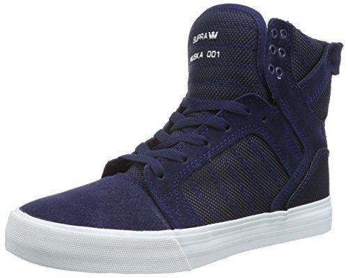 Supra SKYTOP, Unisex-Erwachsene Hohe Sneakers, Blau (NAVY TWOTONE - WHITE NVY), 43 EU (8.5 Erwachsene UK) - http://on-line-kaufen.de/supra/43-eu-supra-skytop-unisex-erwachsene-hohe-7
