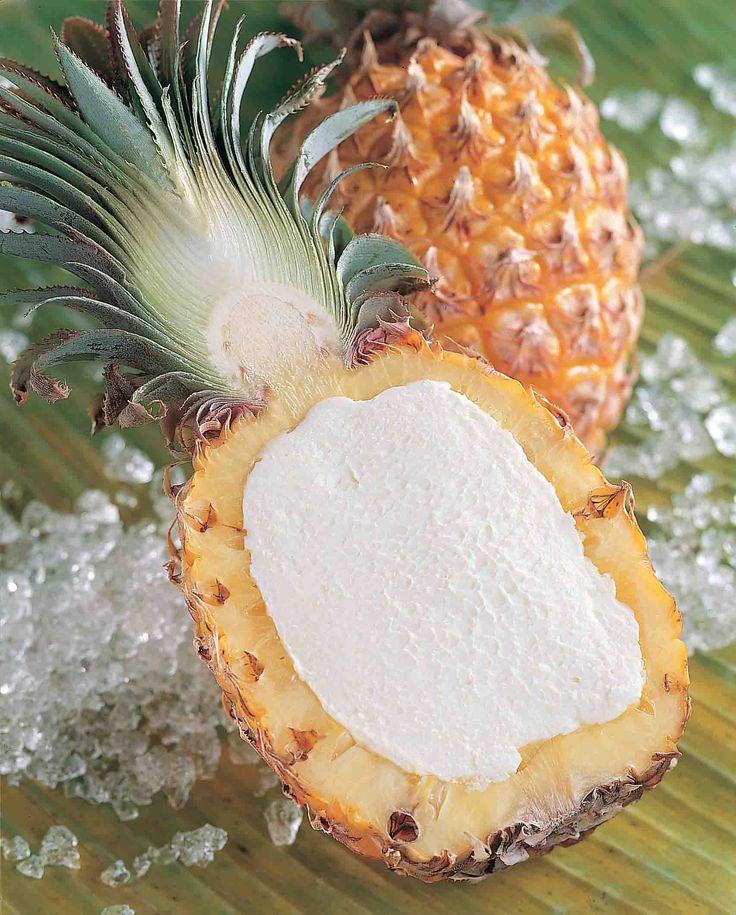 Ananas Ripieno Monoporzione  #monoporzioni #dessert #bindi