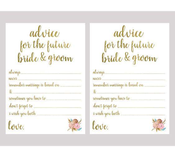 Wedding Night Advice: 25+ Best Ideas About Bridal Shower Advice On Pinterest