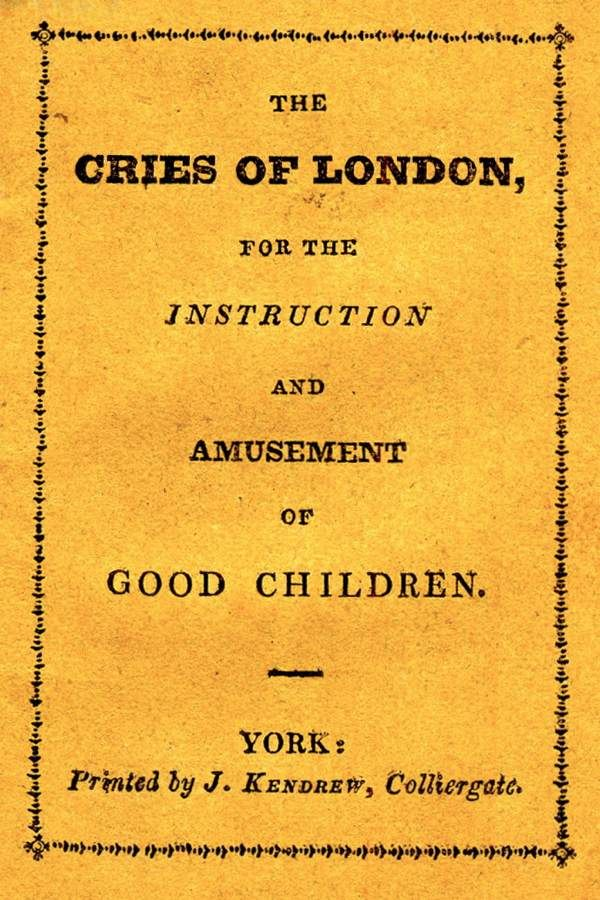 Kendrew's Cries of London