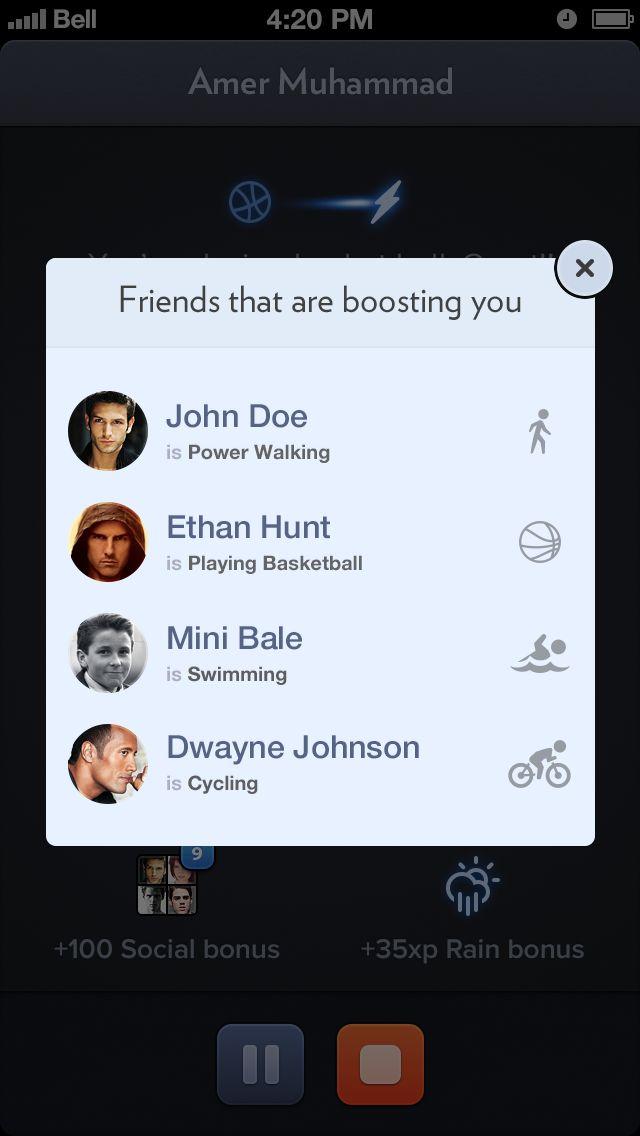 Social-popup