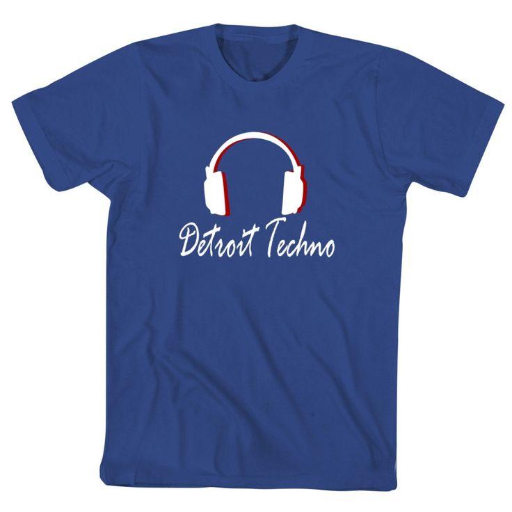 Detroit Techno Headphones T-Shirt by Teeburon on Etsy https://www.etsy.com/listing/202471545/detroit-techno-headphones-t-shirt