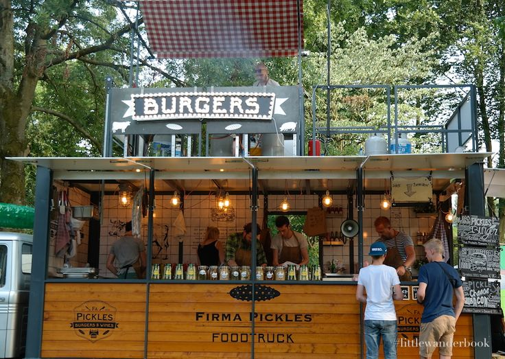 Food Truck Festival Trek Amterdam by Little Wanderbook