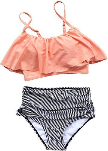 f12b0920071 New CUPSHE Women's Falbala Design Bikini Set online shopping in 2019 ...