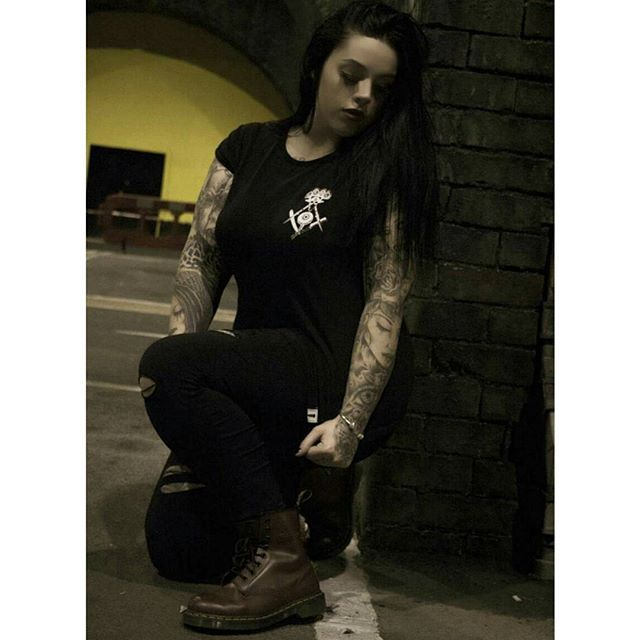 """""""Murderous"""" Women's Tee Available at www.crmc-clothing.co.uk 
