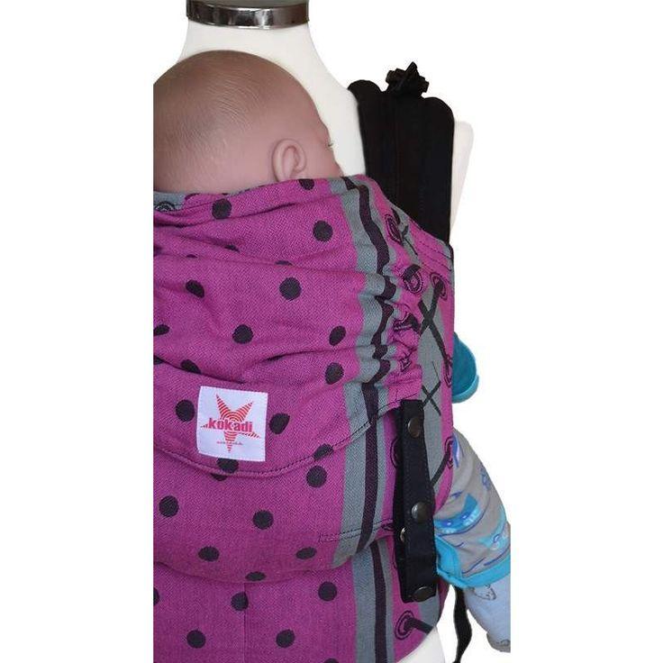 Kokadi Flip Baby Carrier - Rockabilly Girly (Toddler Size) - Little Greenie