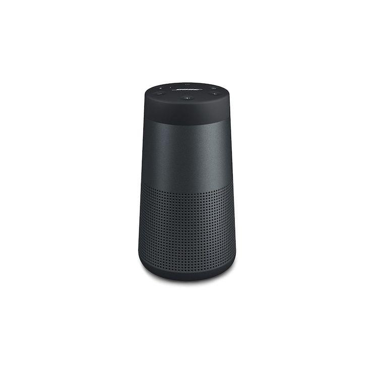 Bose SoundLink Revolve - Altavoz portátil con Bluetooth, color negro. Disfruta de hasta 12 horas de reproducción con una batería de iones de litio recargable.