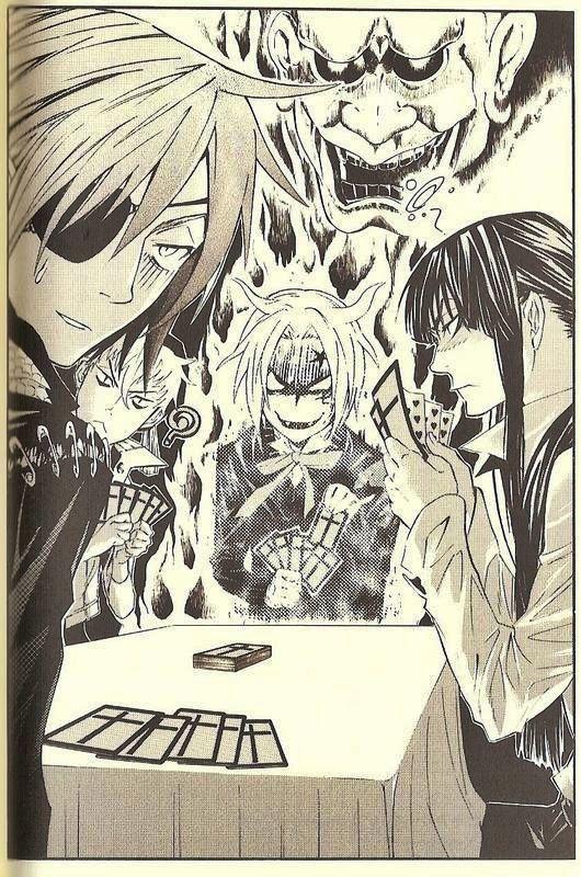 Tags: Anime, Scan, D.Gray-man, Allen Walker, Lavi, Yuu Kanda