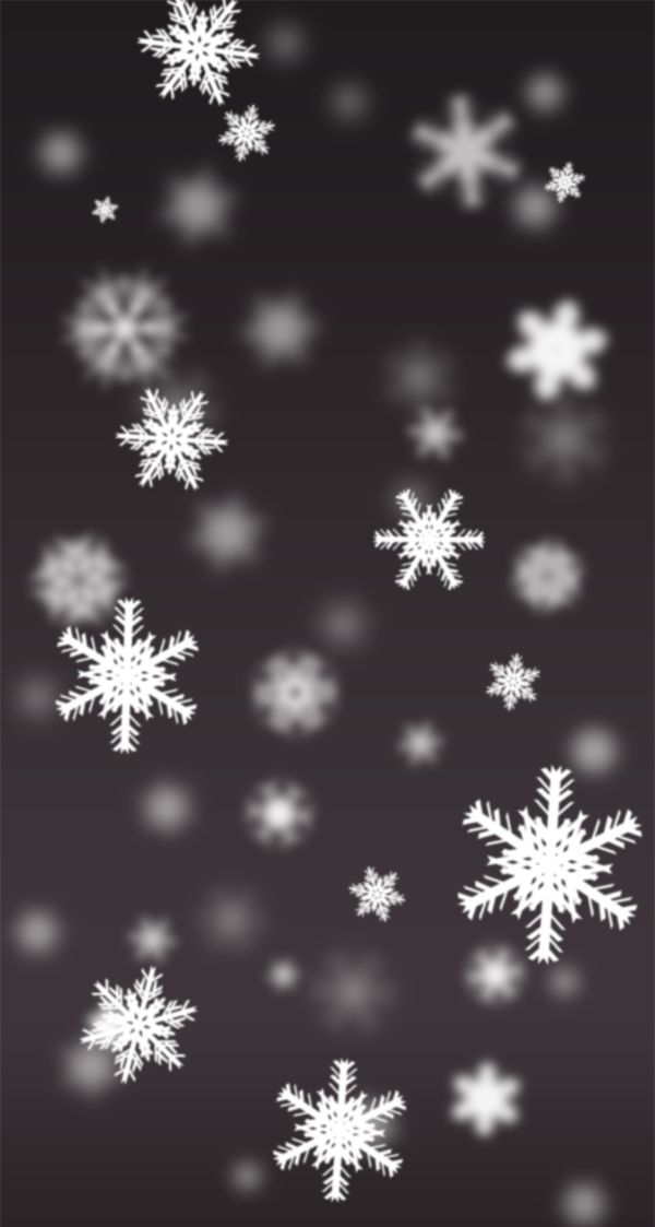 Christmas Snowflakes Wallpaper for iPhone 5/5c/5s on Behance