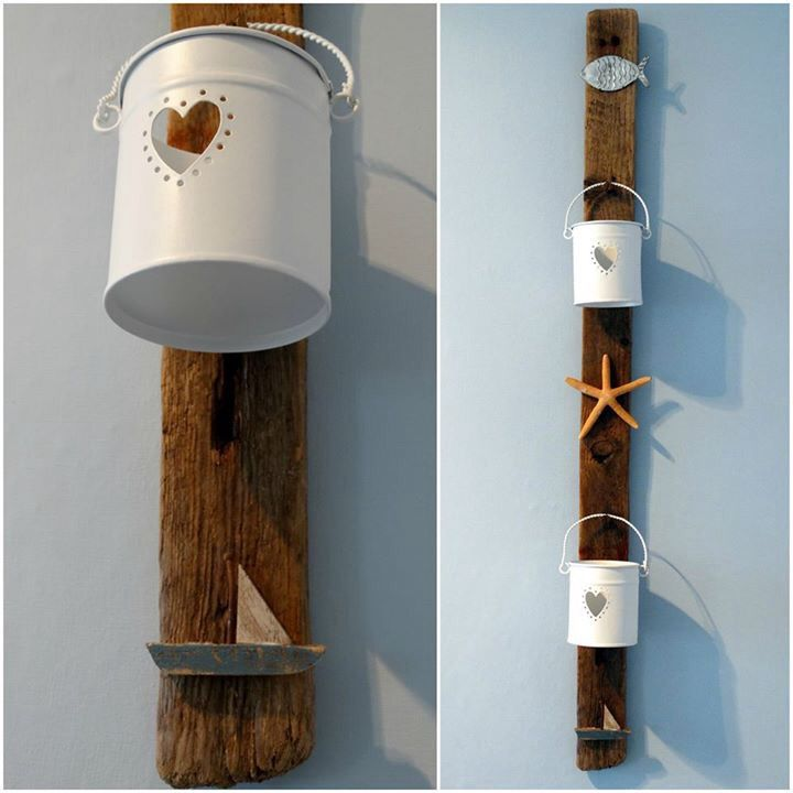Nautical bathroom lantern hanger