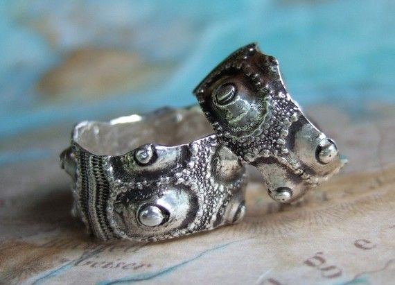 Alternative Jewelry, Custom Wedding Rings, Handmade Silver Wedding Bands by HappyGoLickyJewelry.com Click pic to see more designs.