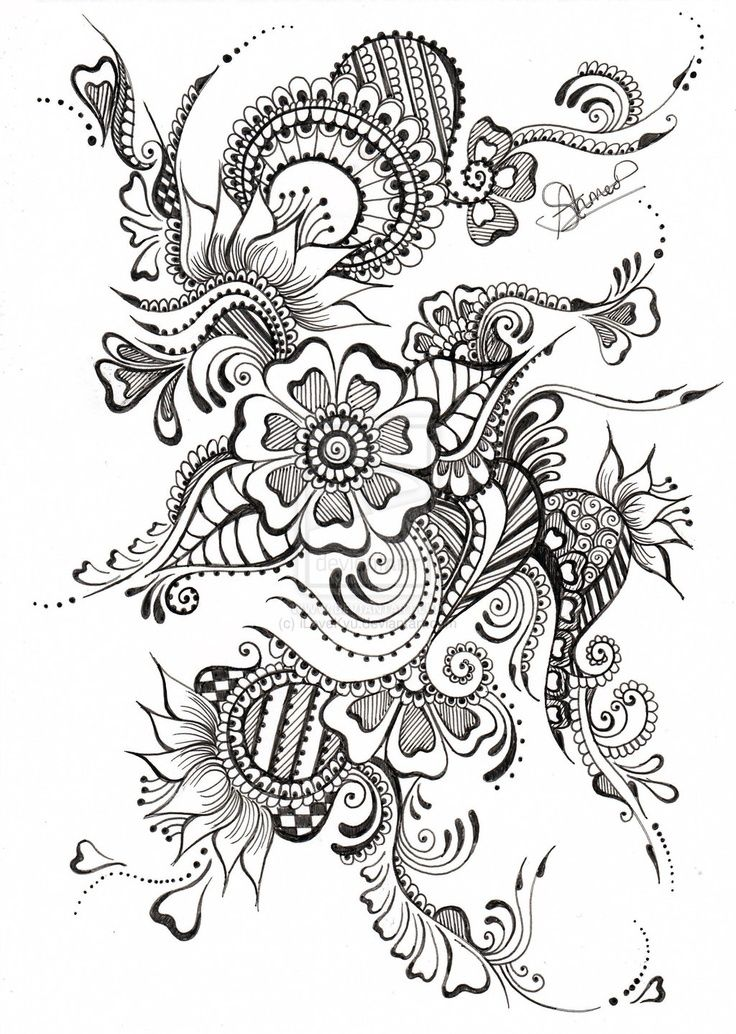 ZENTANGLES are friggin amazing. I tried to do one of these 2 years ago when i was in 8th grade and i mean talk about FAIL. very impressive