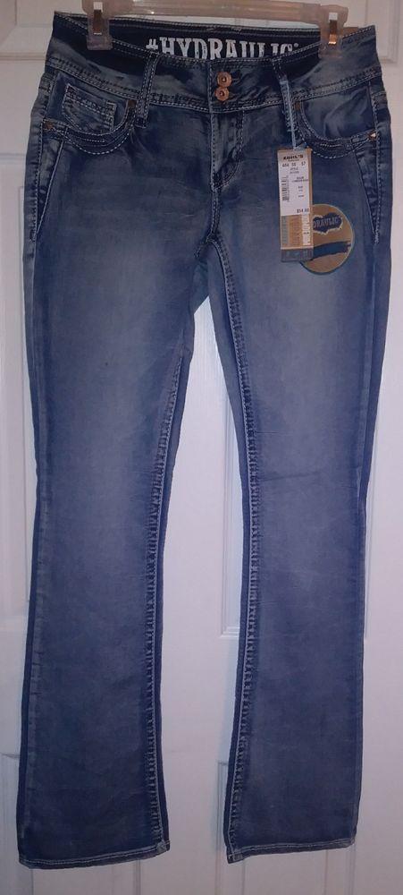 Hydraulic Jeans Lola Curvy Slim Boot Size 5/6 #HYDRAULIC #SlimBoot