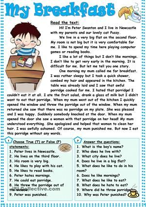 17 Best ideas about Comprehension Exercises on Pinterest ...