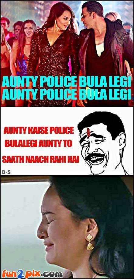 Sonakshi sinha troll When Aunty called the police