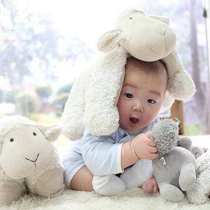 Our baby minguk pic ^-^