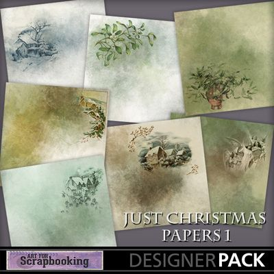Just Christmas Papers 1