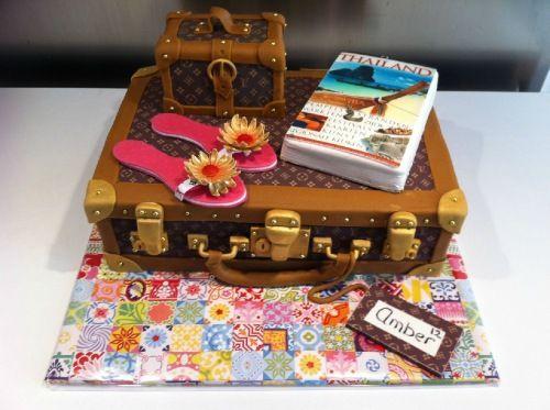 Afbeeldingsresultaat voor thema reizen taart