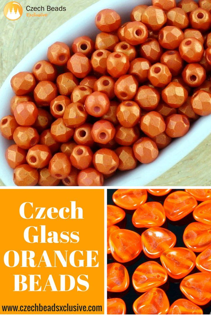 Czech Glass Orange Beads  Different Shapes - Buy now with discount!  Hurry up - sold out very fast! www.CzechBeadsExclusive.com/+orange SAVE them! ??Lowest price from manufacturer! Get free gift! 1 shipping costs - unlimited order quantity!  Worldwide super fast ?? shipping with tracking number! Get high wholesale discounts! Sold with  at http://www.CzechBeadsExclusive.com #CzechBeadsExclusive #czechbeads #glassbeads #bead #beaded #beading #beadedjewelry #handmade #etsy #dawanda #amazon #diy…